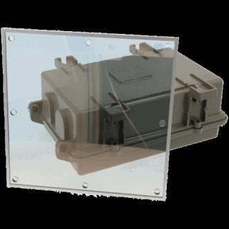 9910 - Skaidrūs EMI / RFI-ekranavimas folijos langai